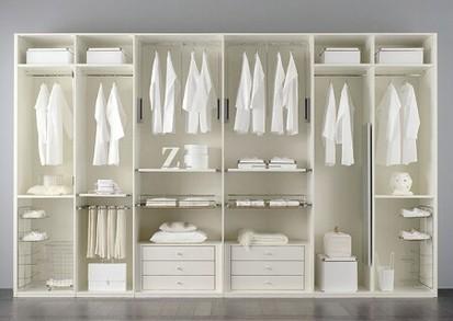 Arredare in bianco ecco dei consigli su misura - Cabina armadio su misura ...