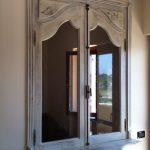 Finestre anticate in legno