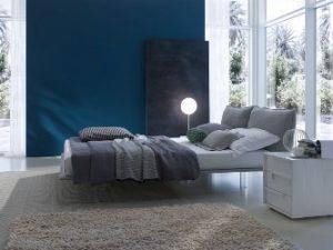 Mobili su misura per arredare in stile minimal la camera da letto