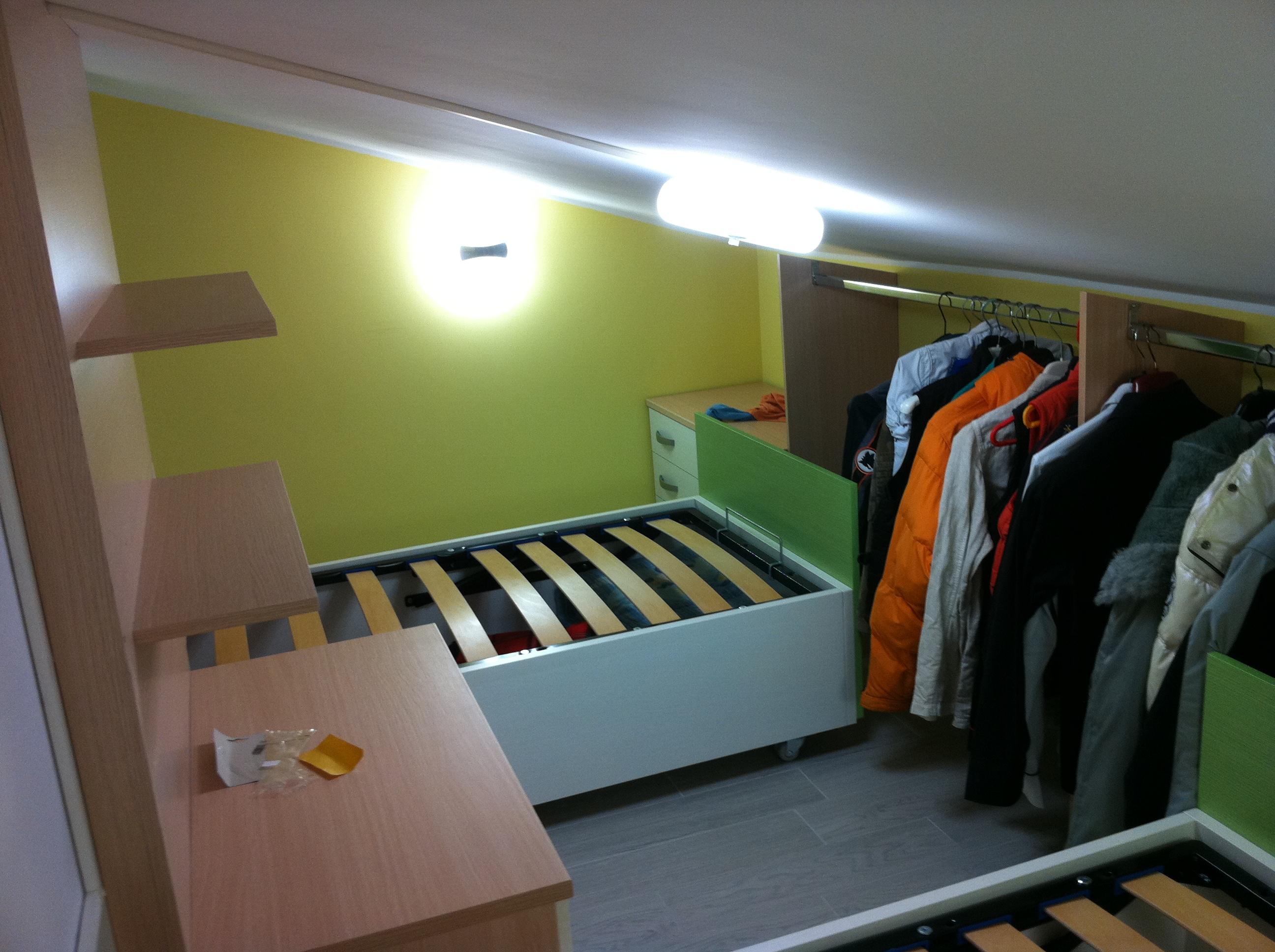 Cabina armadio per cameretta pi ordine nella stanza dei - Soluzioni per cabina armadio ...