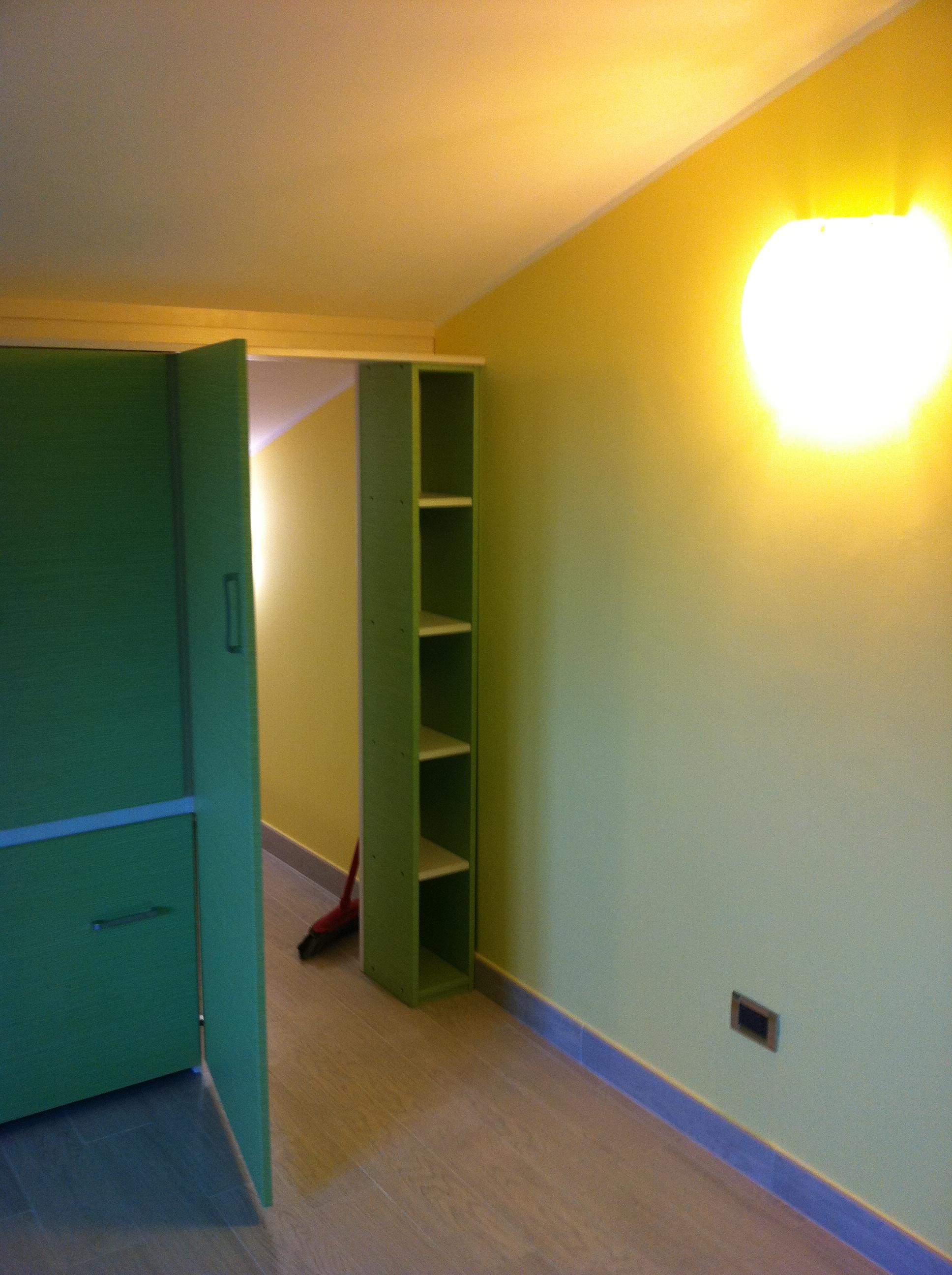 Cabina armadio per cameretta pi ordine nella stanza dei bambini arredi e mobili - Cabina armadio per cameretta ...