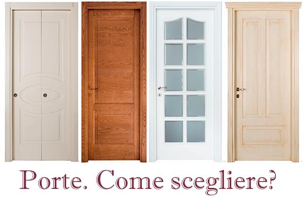 Porte in legno: consigli pratici e di stile per scegliere bene
