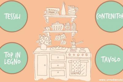 4 ispirazioni per arredare e decorare la cucina