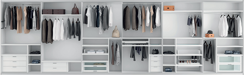 Moduli e accessori per armadio