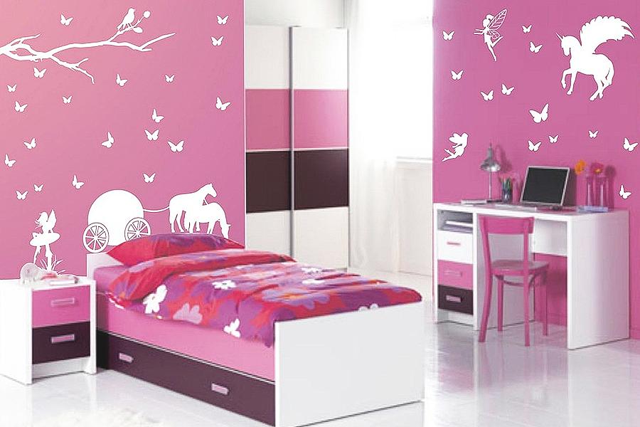 Pareti colorate camerette bambini pareti camerette per for Stanzette per bimbe