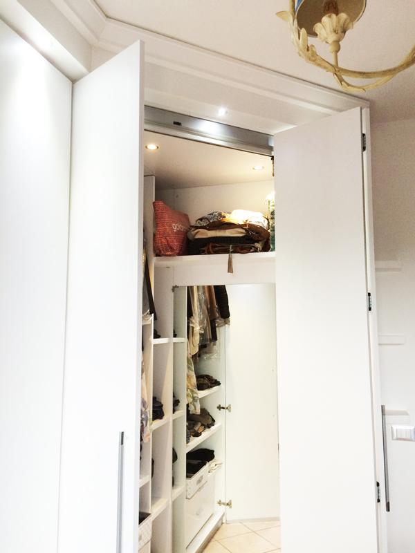 Cabina armadio, sognare al femminile - Idee e consigli per te
