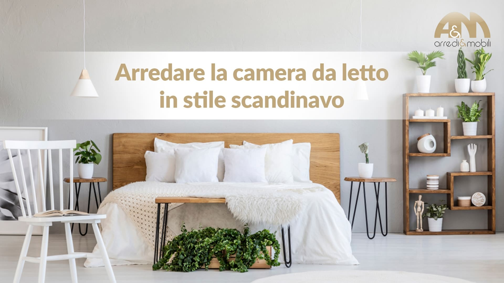 cosa serve per arredare la camera da letto in stile scandinavo