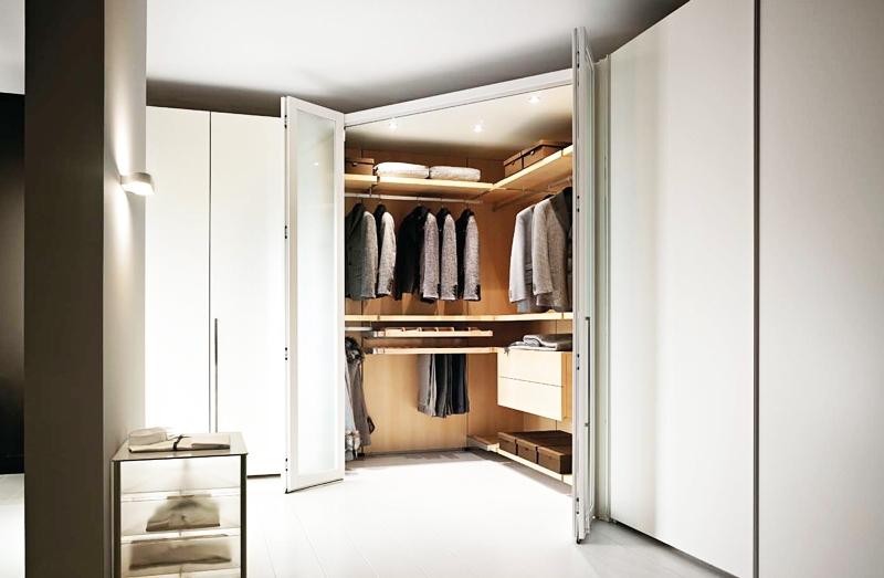Cabine armadio roma soluzioni e idee su misura arredi - Camera da letto con cabina armadio ad angolo ...