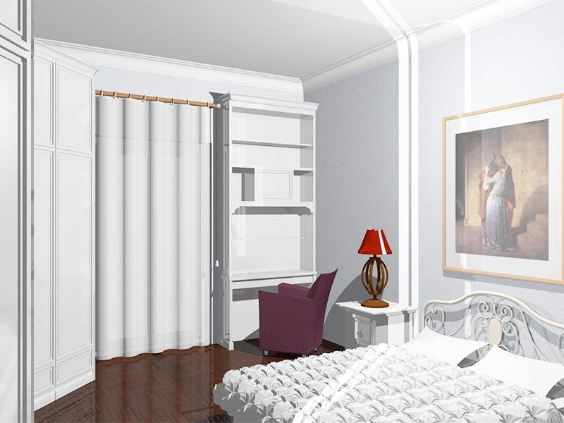 Camere da letto su misura Roma classiche e moderne - Arredi ...