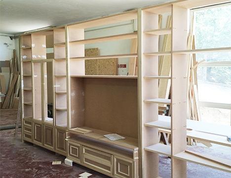 Arredamenti su misura per soggiorno a roma arredi e mobili for Mobili soggiorno legno