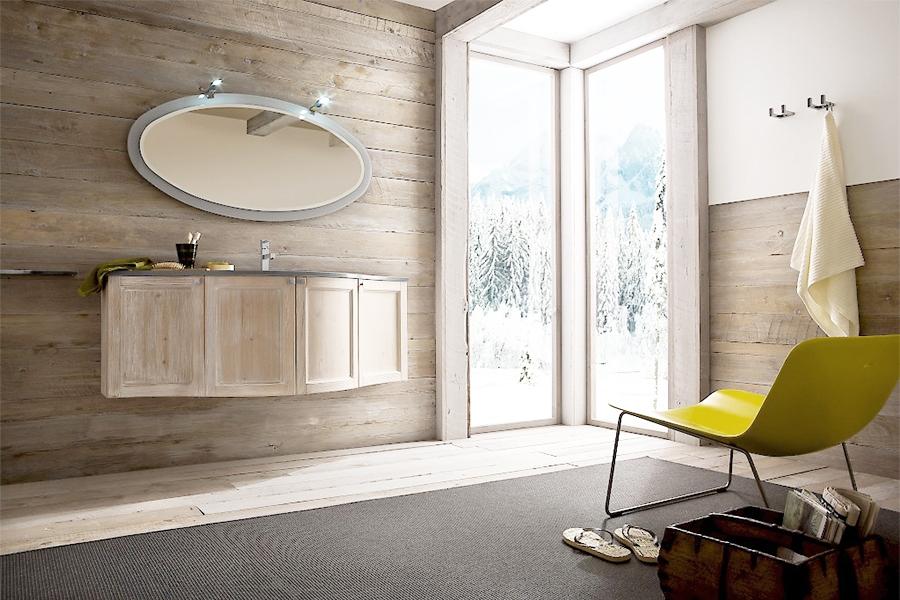 Mobili bagno ferro design casa creativa e mobili ispiratori - Bagno con sale grosso ...