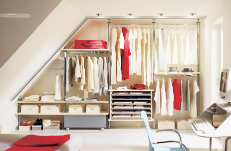 Cabine armadio roma soluzioni e idee su misura arredi e mobili - Cabine armadio in mansarda ...
