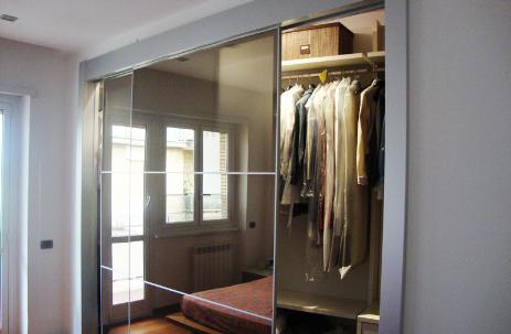 Cabine armadio roma soluzioni e idee su misura arredi - Ante scorrevoli per cabine armadio ...