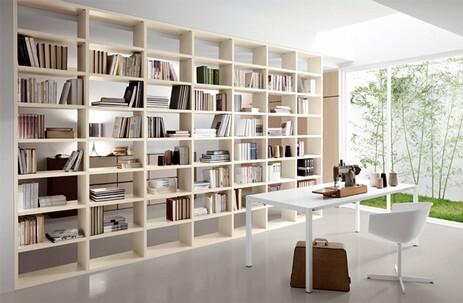 Pareti A Giorno Moderne.Librerie Moderne A Roma Soluzioni Di Design E Funzionalita