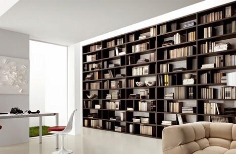 Librerie moderne a Roma - soluzioni di design e funzionalità ...