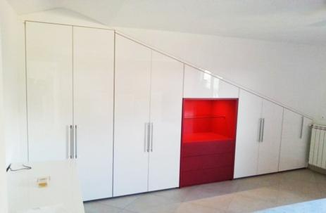 Armadi a muro roma soluzioni salva spazio e salva tasche arredi e mobili - Aziende produttrici di mobili ...