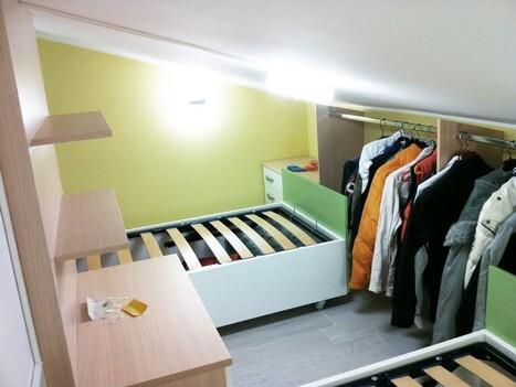 Camerette per bambini roma, su misura e colorate   arredi e mobili