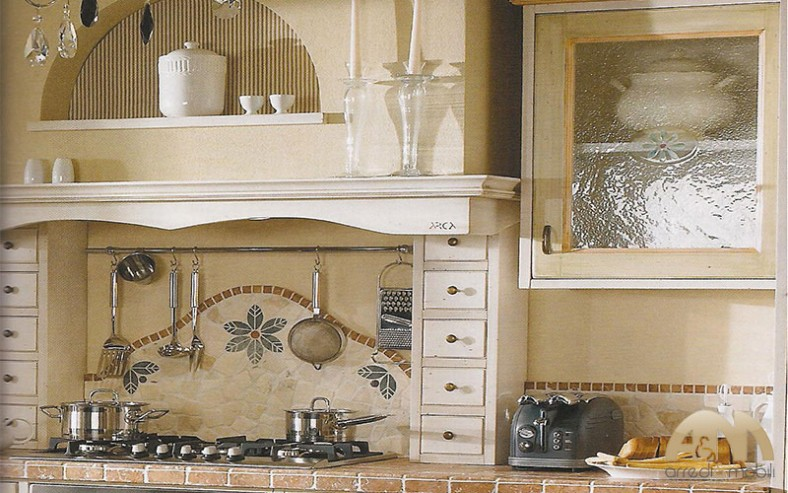 Cucine componibili su misura a roma arredi e mobili - Cappa cucina in muratura ...