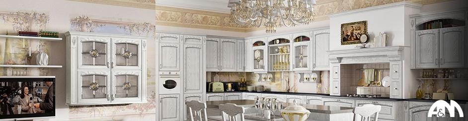 Cucine classiche su misura a Roma - Arredi e Mobili