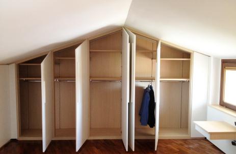 Armadi a muro roma soluzioni salva spazio e salva tasche - Soluzioni per cabina armadio ...