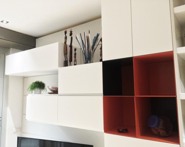 Librerie su misura a roma laccature e verniciature for Arredi e mobili
