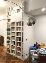 Librerie A Muro Su Misura.Librerie Su Misura A Roma Laccature E Verniciature Ecologiche