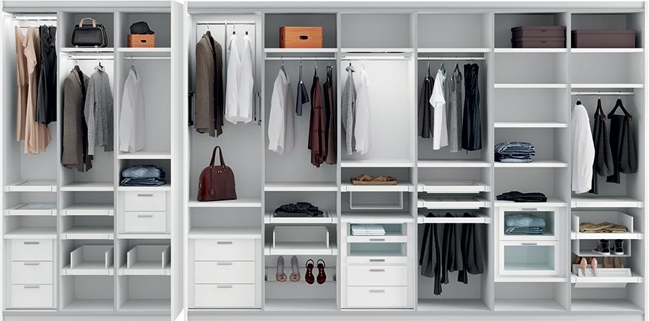 come organizzare l 39 interno di un armadio su misura