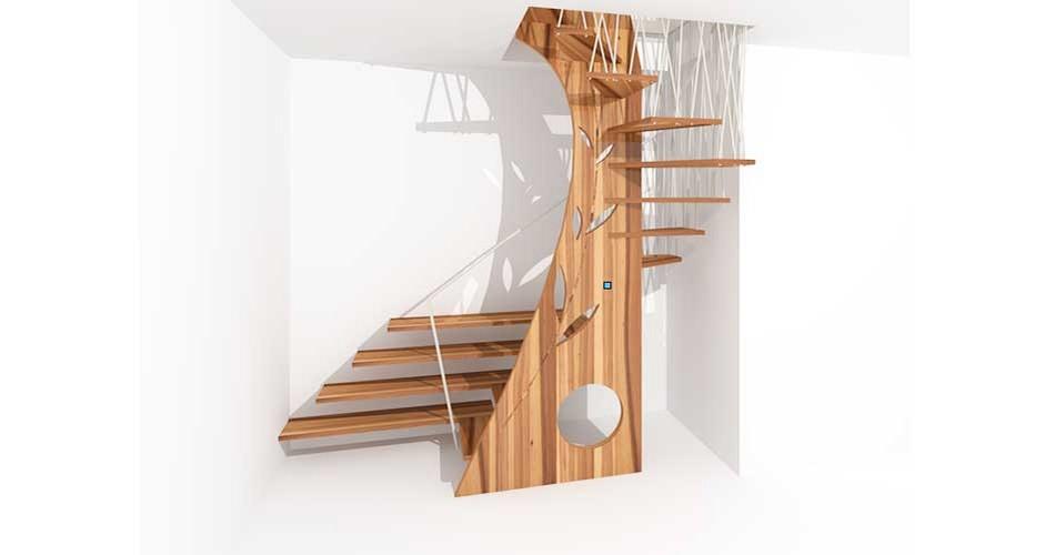 Foto scale in legno scale legno with foto scale in legno - Scale in legno fai da te ...